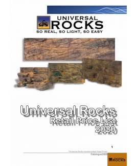 Universal Rocks Recommended Retail Price List