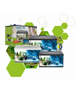 Aquael Leddy Day & Night Aquariums and Cabinets