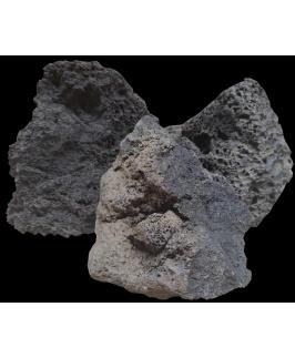 A.P. Natural SAMPLE BOX - Lava Rock - Black (20kg Box)
