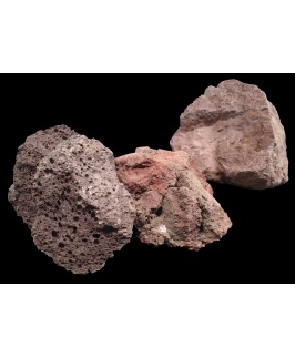 A.P. Natural SAMPLE BOX - Lava Rock - Brown (20kg Box)