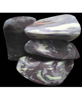 A.P. Natural SAMPLE BOX - Purple Jade Stone (20kg Box)